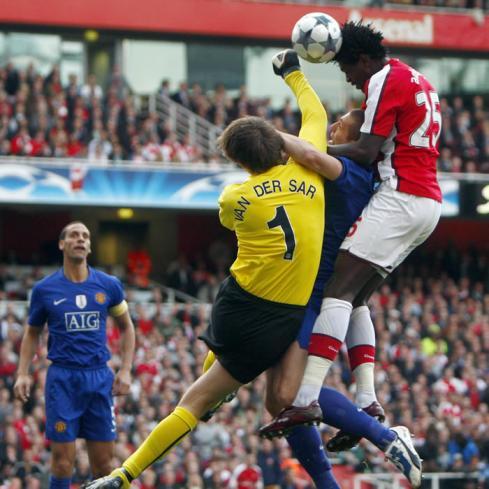No todo fue Nike en el Emirates
